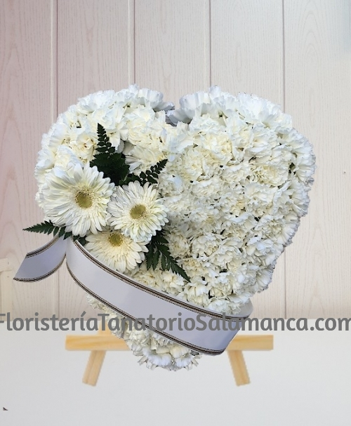 Corazón funerario especial para Salamanca