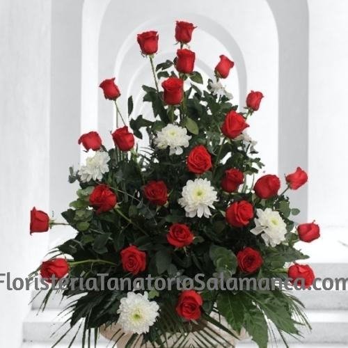 Composición Floral Fúnebre en Salamana