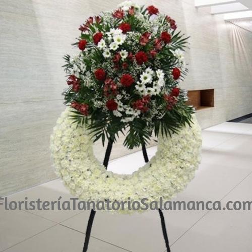 Corona Funeraria Blanca Salamanca